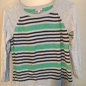 Striped sweater- Merona